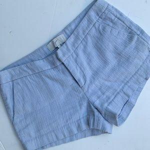 Joie pale blue cotton shorts sz 4.